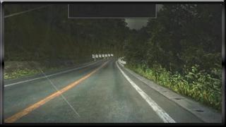 イニDの車窓から 椿ライン上り雨夜
