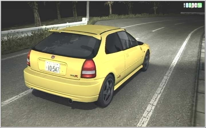 舘智幸 CIVIC TYPE R [EK9]