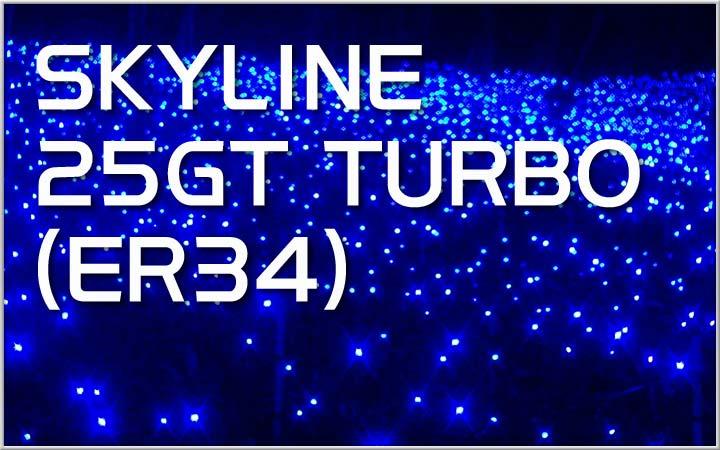 車種開放キャンペーン!SKYLINE 25GT TURBO (ER34)